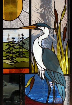 The Glasshopper Studio Chris Montgomery Stained Glass